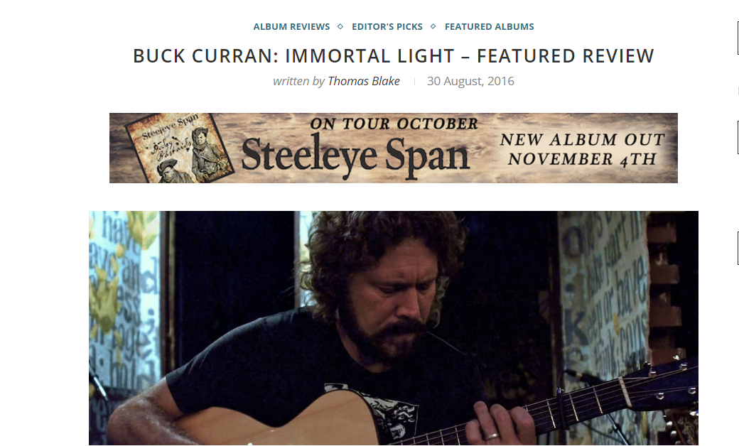 buck curran folk radio uk